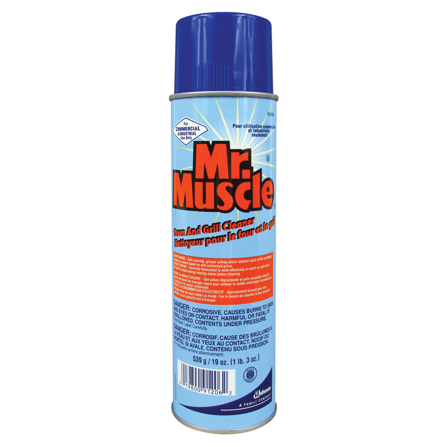 Mr muscle oven grill cleaner 19 oz jobena for Mr muscle idraulico gel