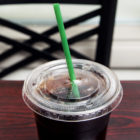 Jumbo Straw 10.25 in Biodegradable Green Wrapped